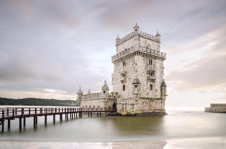 Belem Tower Architecture Photos On Creative Market