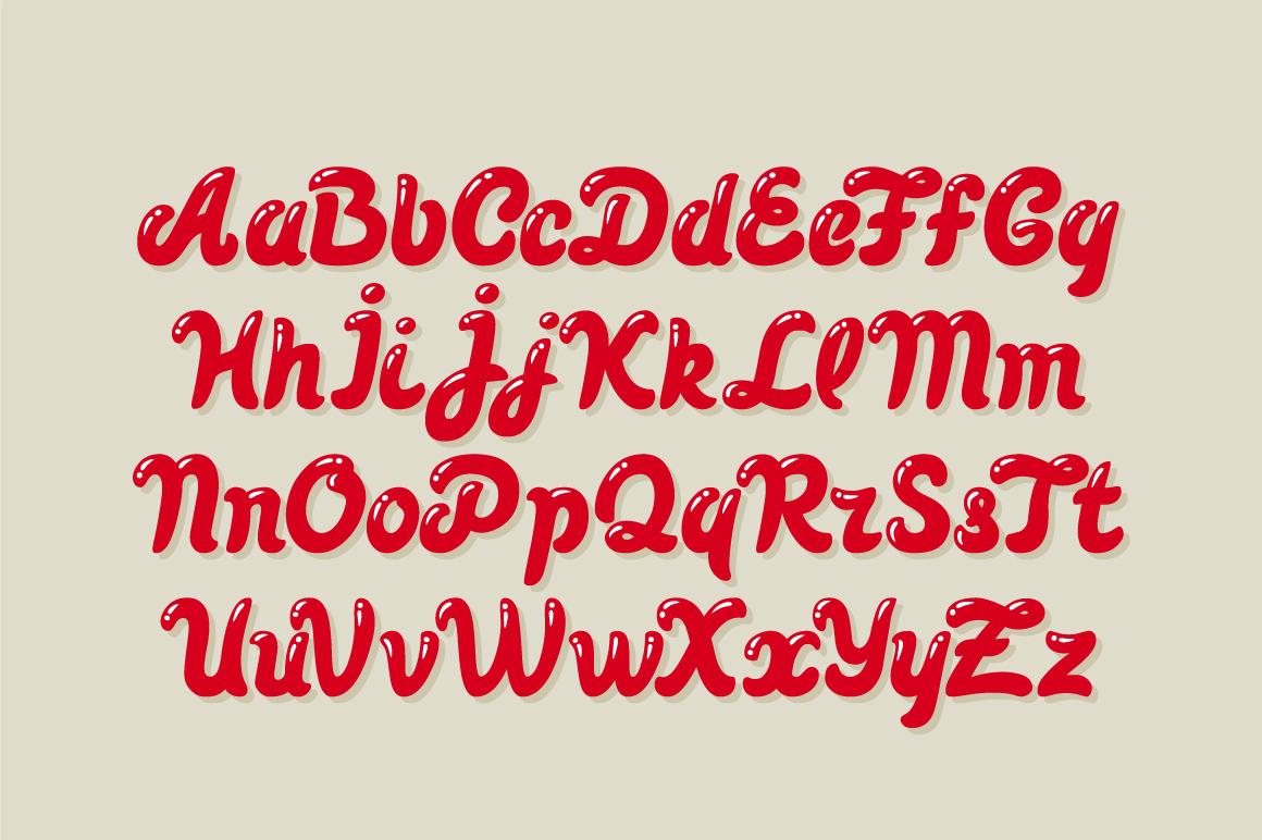 Pin up font