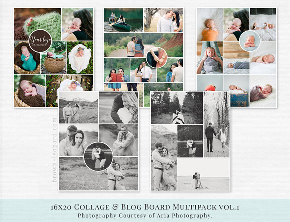 Collage & Blog Board Multipack vol.1 - Objects