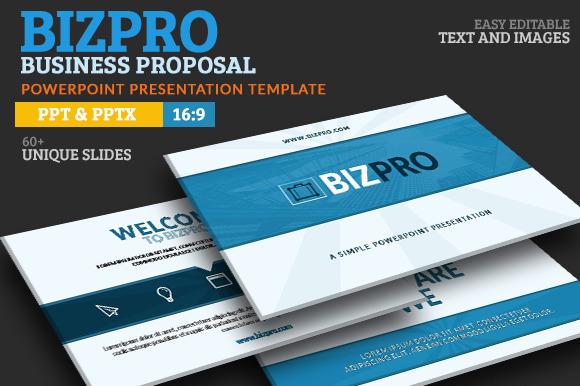 rfp presentation template - bizpro proposal ppt presentation presentation templates