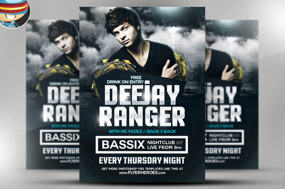 Ranger Flyer Template