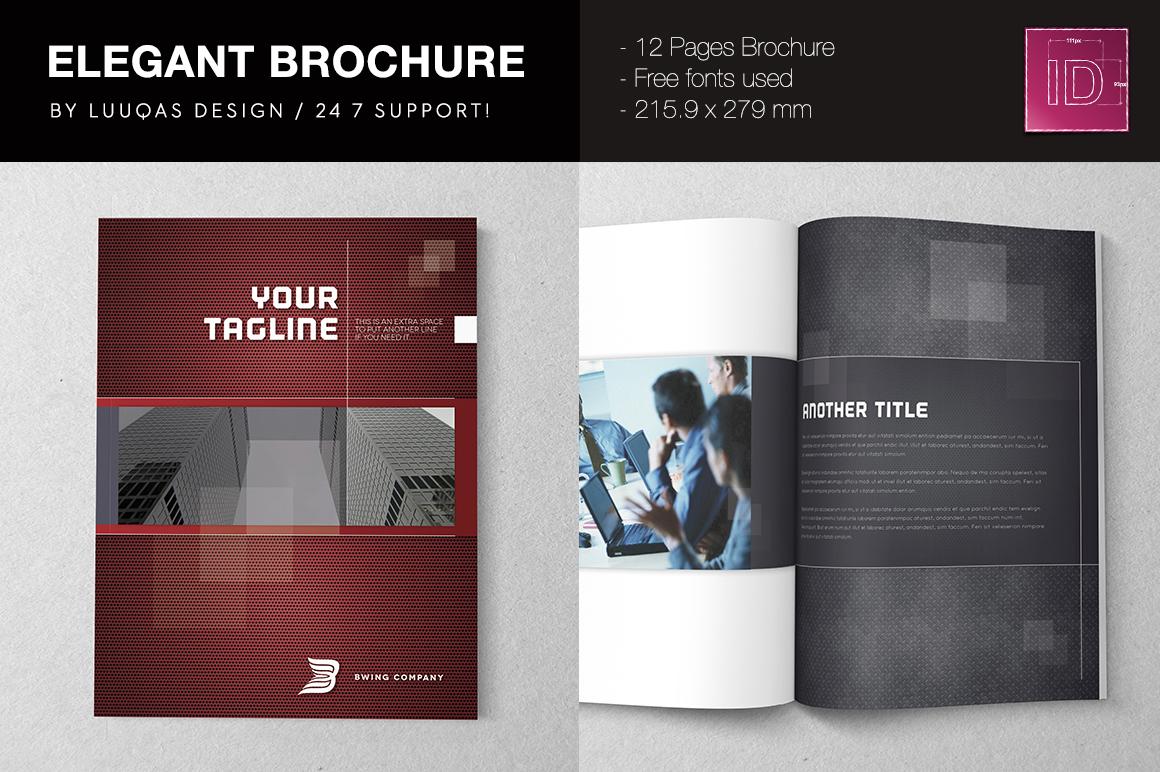 elegant brochure templates - elegant brochure template brochure templates on creative