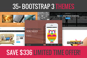35+ Bootstrap 3 themes deal-Graphicriver中文最全的素材分享平台