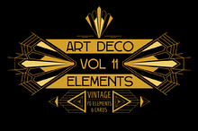 Art deco cards illustrations on creative market - Deco vol ...