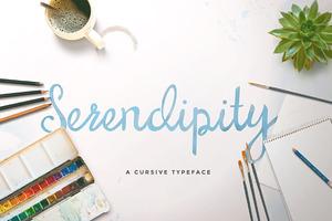 Serendipity Script (50% OFF)