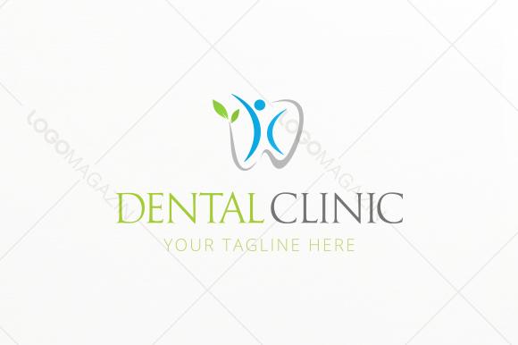 Dental Clinic logo Template ~ Logo Templates on Creative Market