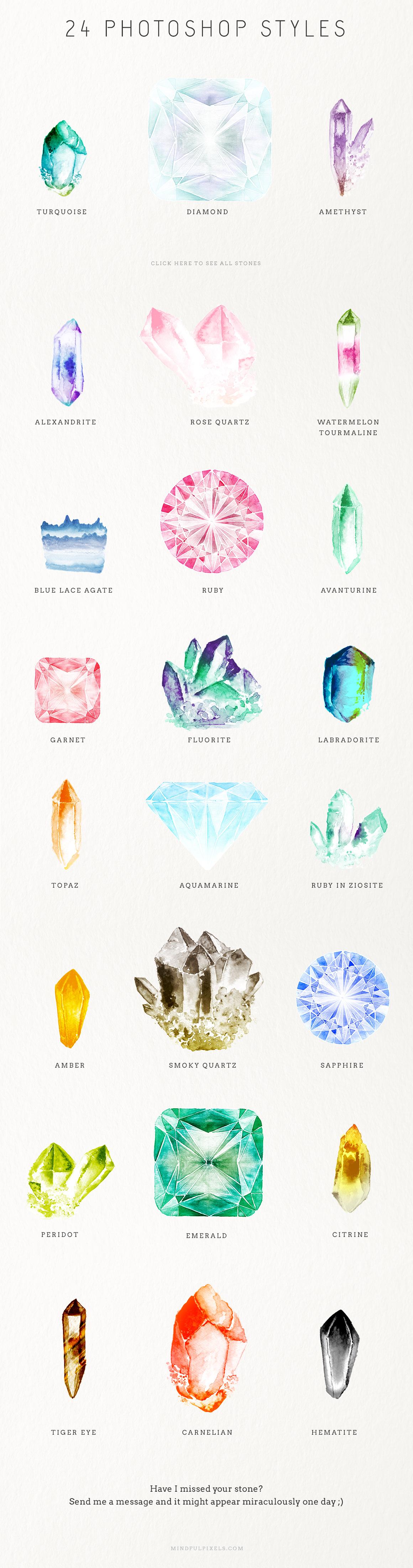 watercolour gem creator kit