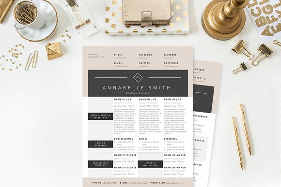 elegant resume template package resume templates on