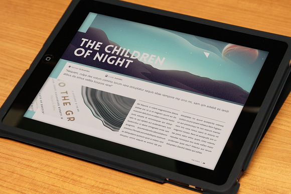 CM - Design Magazine 4 for Tablet 181609