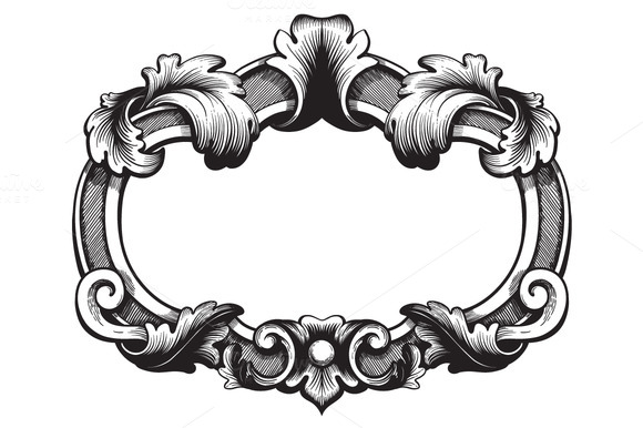 Vintage Ornate Vector Ornate Vintage Frame Vector