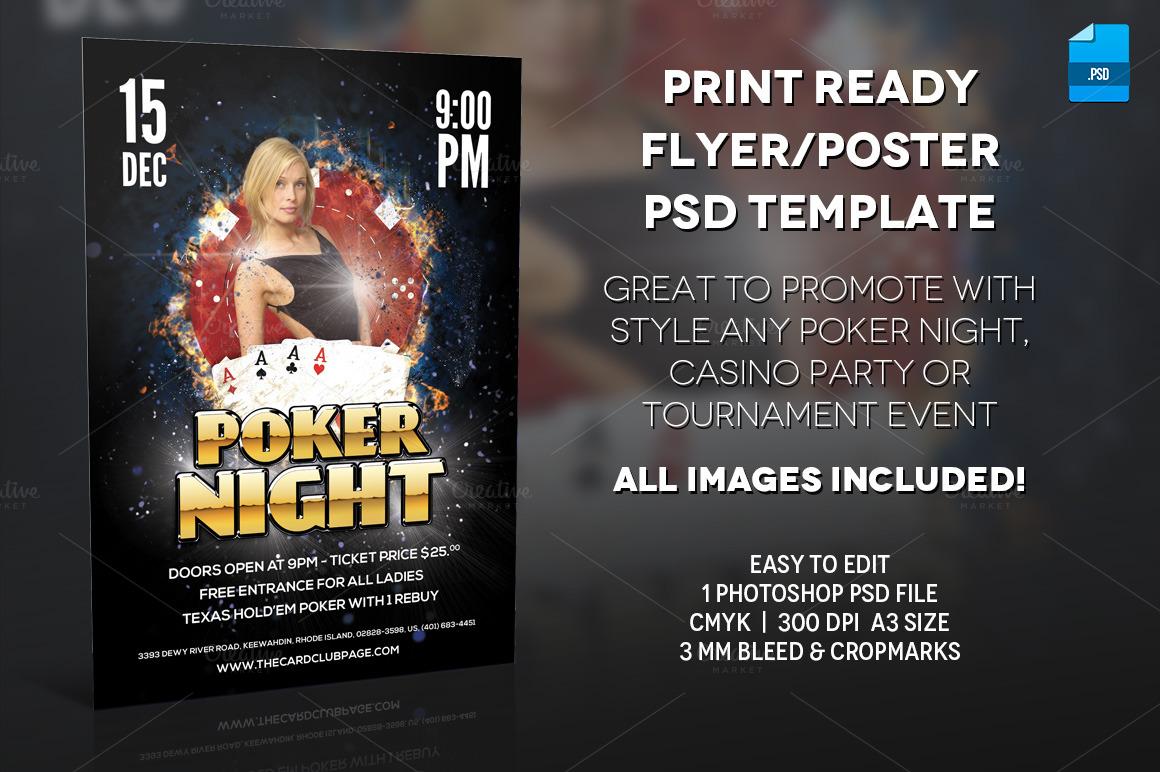 Poker tournament poster template - Slot car racing hanover pa
