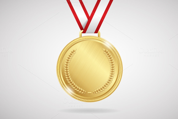 Vector.Set of medals - Objects