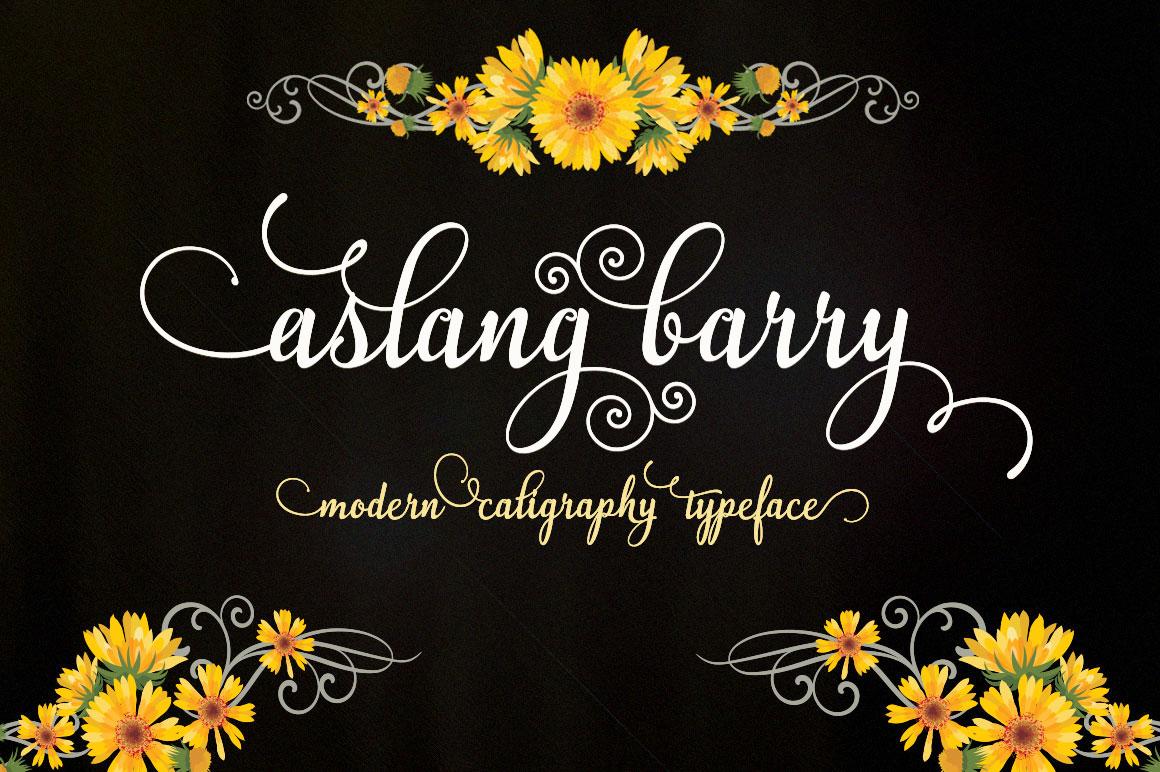 Aslang Barry Font Download