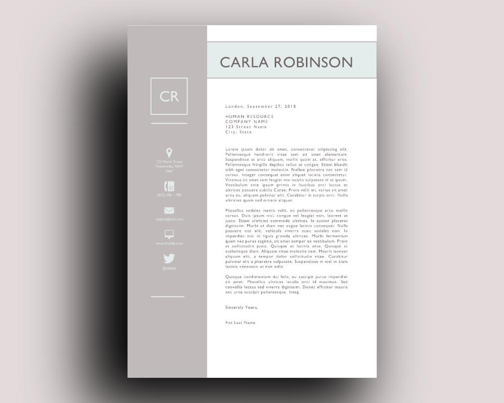elegant resume template for word