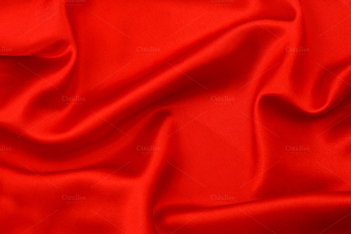 Red Silk Background Texture ~ Textures on Creative Market
