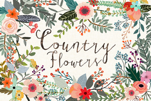 Country Flowers