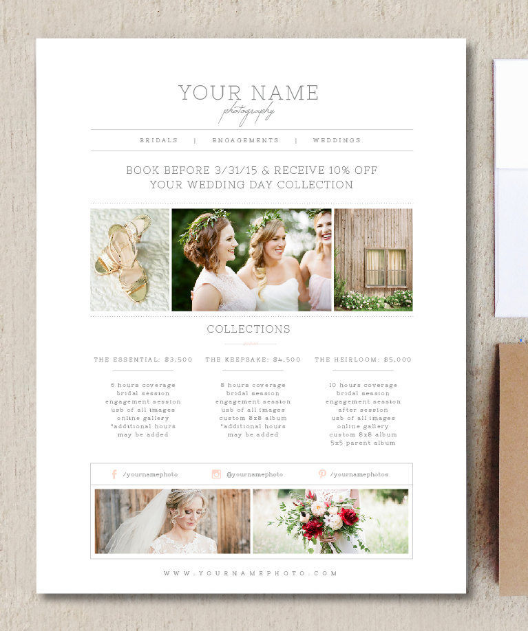 Wedding Family Photography List: Flyer Templates On Creative Market