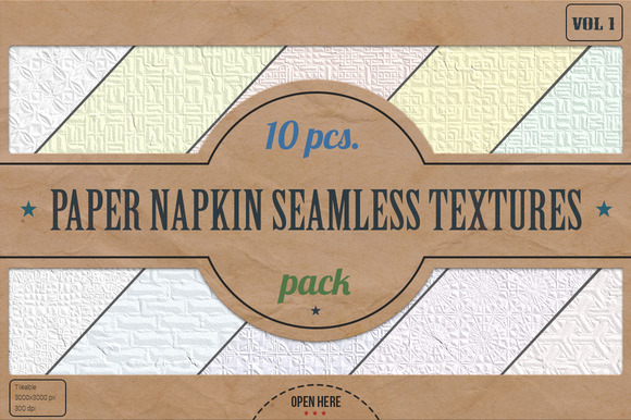 Napkin Seamless Textures Pack v.1 - Textures