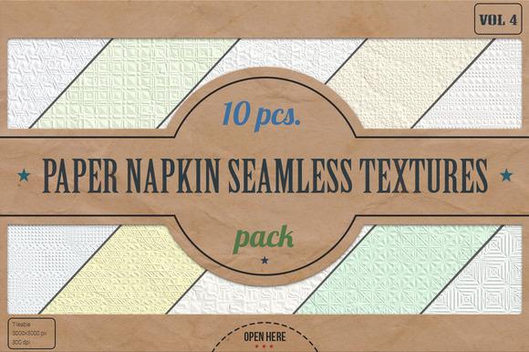 Napkin Seamless Textures Pack v.4 - Textures