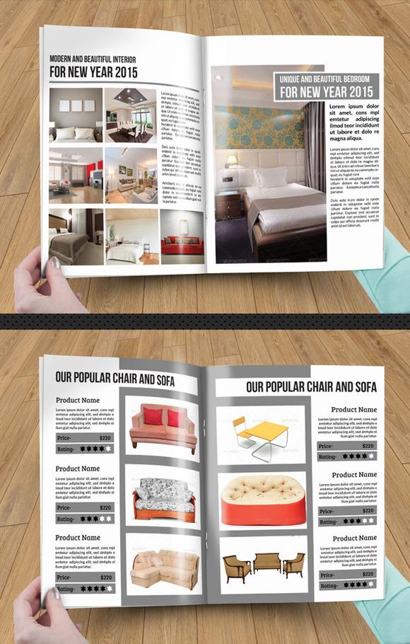 InDesign Interior Brochure SiStec