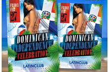 Dominican Independence Party Flyer