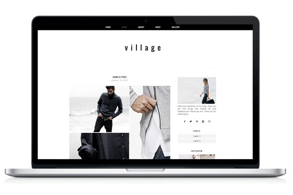 Woocommerce WP Theme – Village