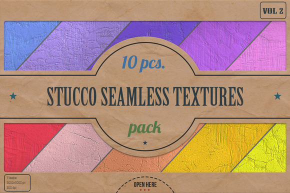 Stucco Seamless HD Textures Pack v.2 - Textures