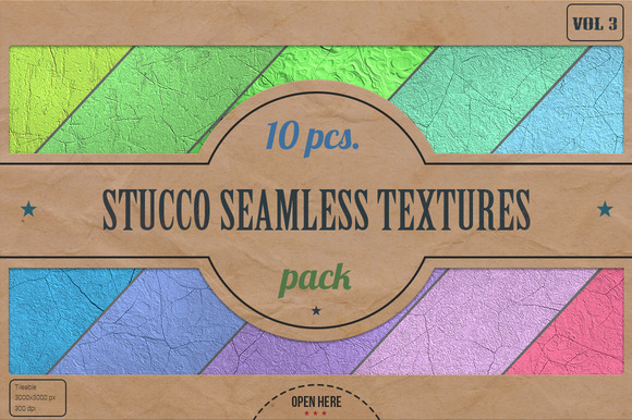 Stucco Seamless HD Textures Pack v.3 - Textures