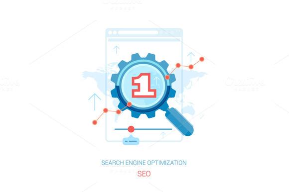 Search Engine Optimization Process.