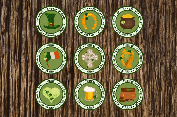 St. Patrick's Day Design Elements - Objects