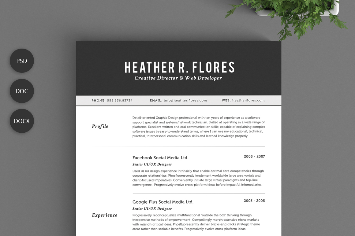 2 pages resume set cv template resume templates on