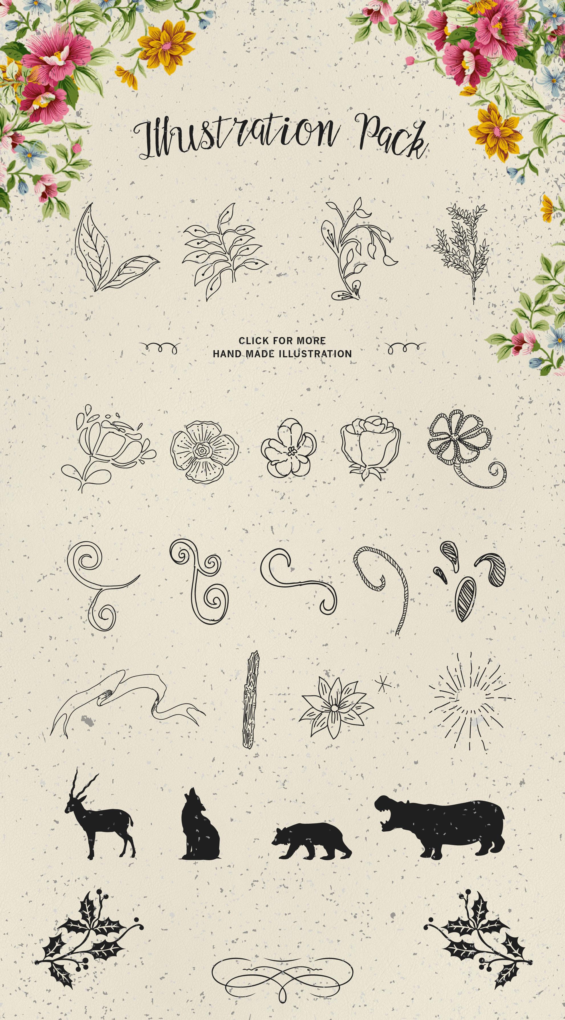 Aldas Typeface