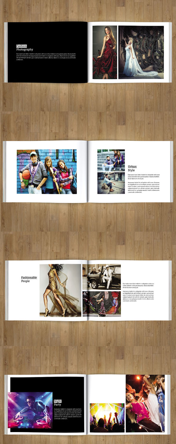portfolio brochure template - indesign portfolio brochure v88 brochure templates on