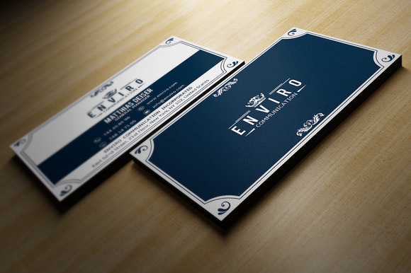 retro business card business card templates on creative