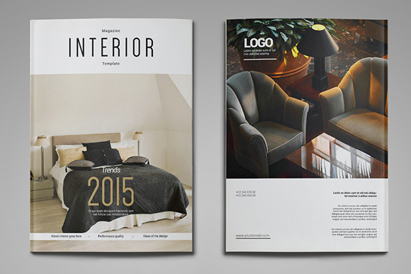 A4 us letter interior magazine magazine templates on for Interior design online magazine