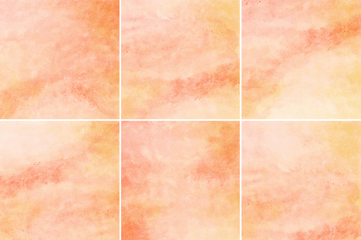peach amp orange watercolor background textures on
