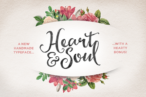 Heart & Soul Typeface