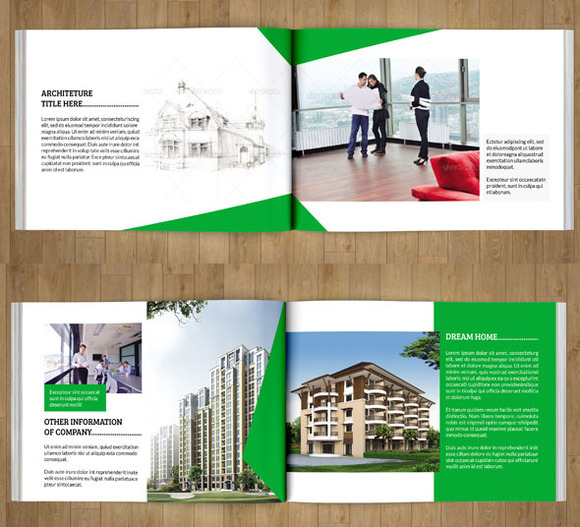InDesign Catalog for Real estate