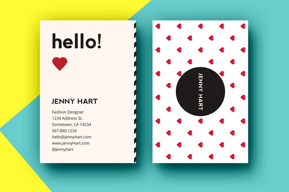 Moo Business Cards Template | Business Card Sample