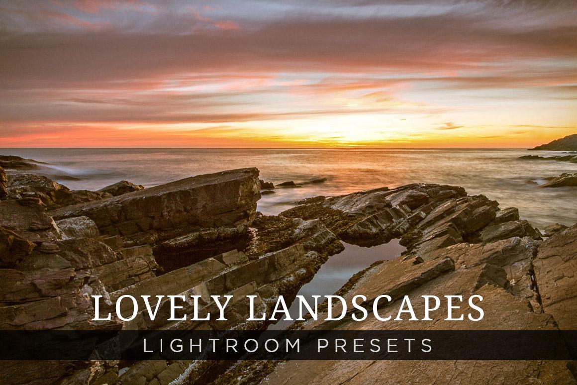 Lovely Landscapes Lightroom Presets Add Ons On Creative