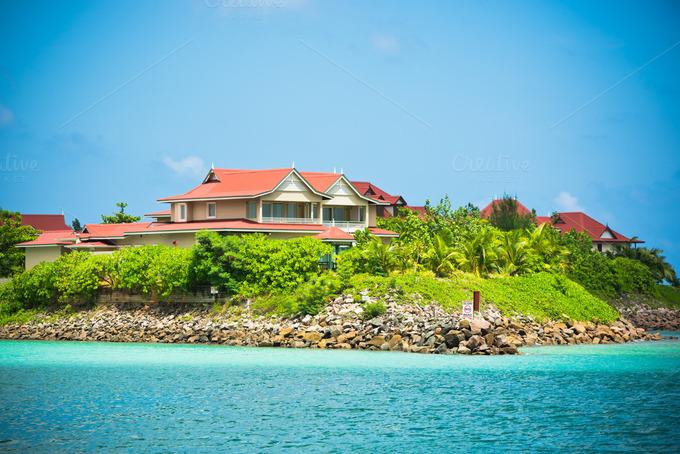 Eden island mahe seychelles architecture photos on creative market - Eden island seychelles ...