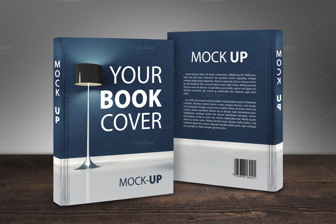 Creative Book Cover Up : New price book cover mock up product mockups on