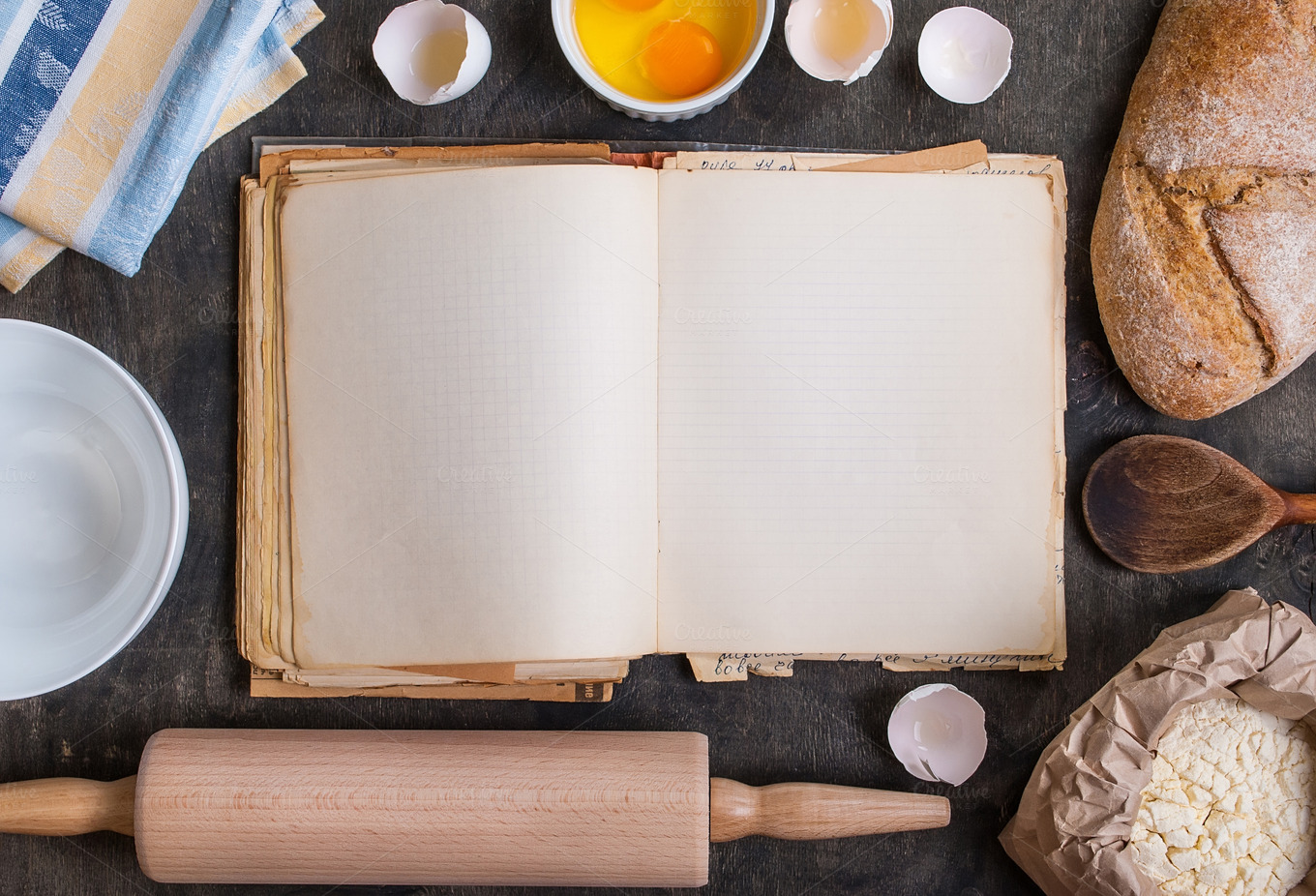 Baking Background Blank Cook Book Food Amp Drink Photos