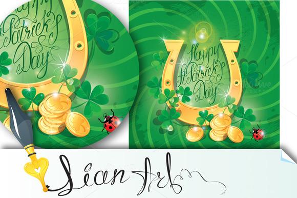 Happy St. Patrick`s Day - Illustrations