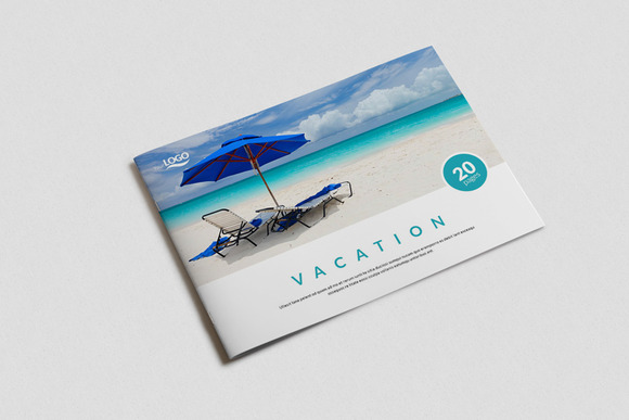 indesign portfolio template brochure templates on creative market. Black Bedroom Furniture Sets. Home Design Ideas