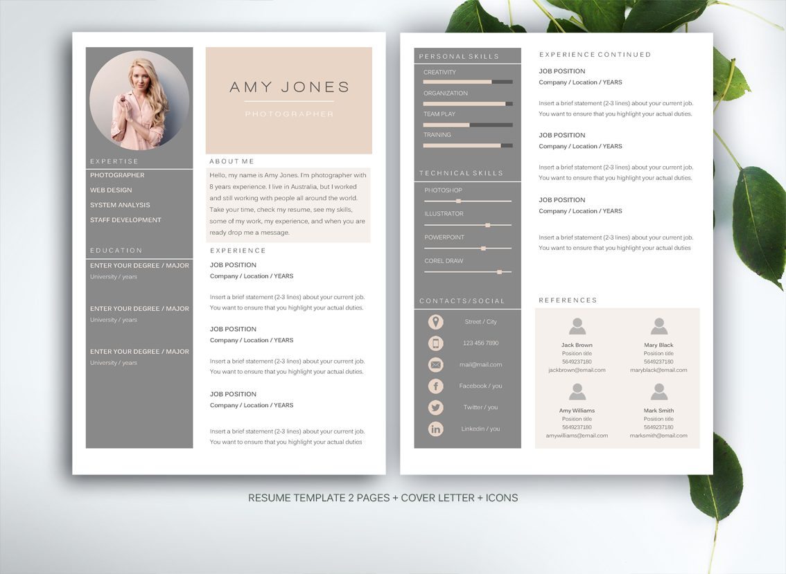 creative resume templates word resume template for ms word resume templates on creative 21238
