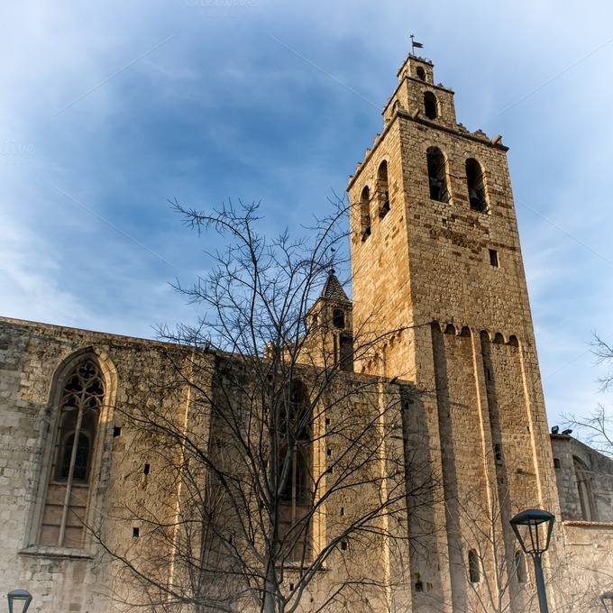 Sant cugat del valles monastery architecture photos on - Cugat del valles ...