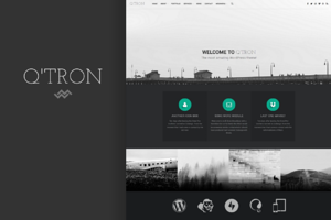 Q'tron - Business Portfolio WP Theme