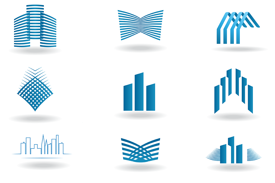 Building And Construction Logos Icons On Creative Market