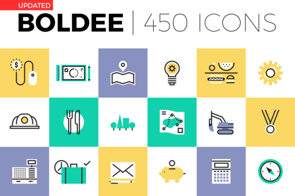 Boldee Pictogram Collection ~ Icons on Creative Market
